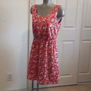 Gap Ladies Medium Size Floral Spring Dress